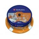 DVD-R 1/25 na štapu